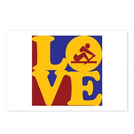 Crewing Love Postcards (Package of 8)