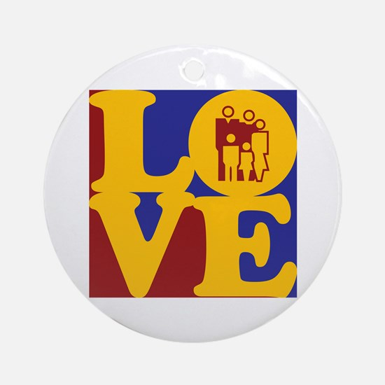 Counseling Love Ornament (Round)