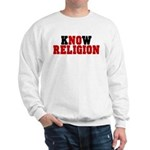 kNOw Religion Heavy Sweatshirt