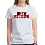 kNOw Religion Women's T-Shirt