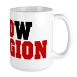 kNOw Religion Large 15oz Mug