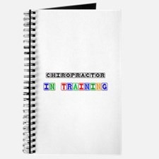 Chiropractor In Training Journal
