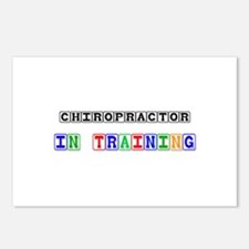 Chiropractor In Training Postcards (Package of 8)
