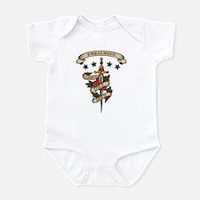 Love Embalming Infant Bodysuit