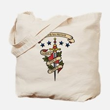 Love Embalming Tote Bag