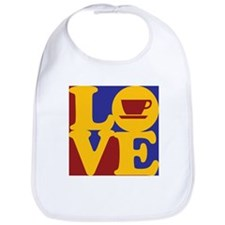 Coffee Love Bib