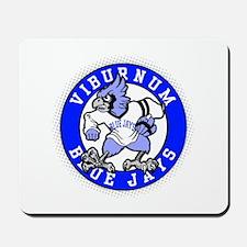 Viburnum Blue Jays Mousepad