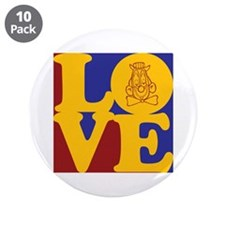 "Clowning Love 3.5"" Button (10 pack)"