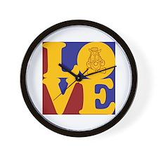 Clowning Love Wall Clock
