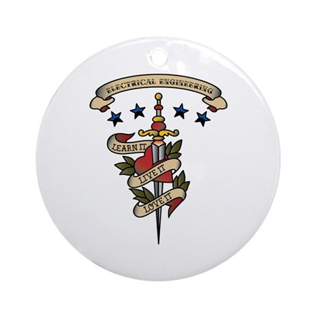 Love Electrical Engineering Ornament (Round)