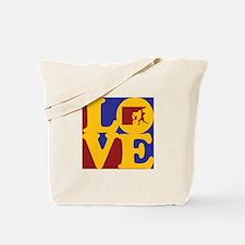 Climbing Love Tote Bag