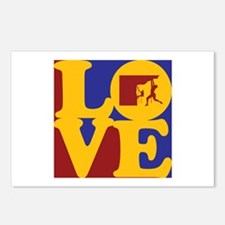 Climbing Love Postcards (Package of 8)