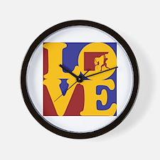 Climbing Love Wall Clock