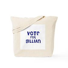 Vote for Gillian Tote Bag