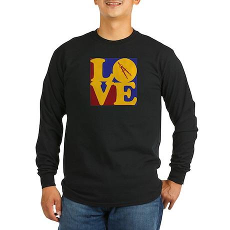 Civil Engineering Love Long Sleeve Dark T-Shirt