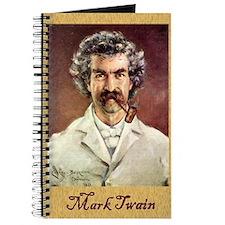 Portrait of Mark Twain - Writer's Notebook