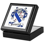 Pennycook Family Crest Keepsake Box