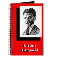 Portrait of F. Scott Fitzgerald- Writer's Notebook