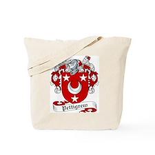 Pettigrew Family Crest Tote Bag