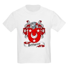 Pettigrew Family Crest Kids T-Shirt