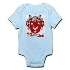 Pettigrew Family Crest Infant Creeper