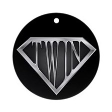 SuperTwin(metal) Ornament (Round)