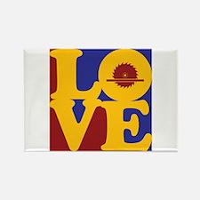 Carpentry Love Rectangle Magnet
