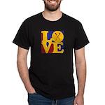 Canoeing Love Dark T-Shirt