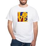Canoeing Love White T-Shirt