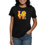 Canoeing Love Women's Dark T-Shirt