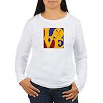 Canoeing Love Women's Long Sleeve T-Shirt