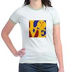Canoeing Love Jr. Ringer T-Shirt