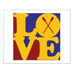 Canoeing Love Small Poster