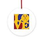 Canoeing Love Ornament (Round)
