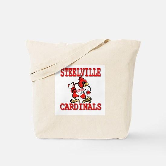 Steelville Cardinals Tote Bag