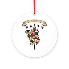 Love Darts Ornament (Round)