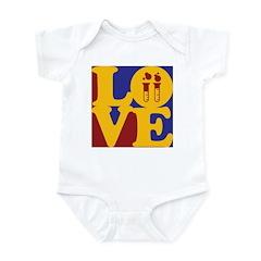 Biochemistry Love Infant Bodysuit