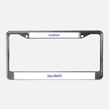 Cute Publishers License Plate Frame