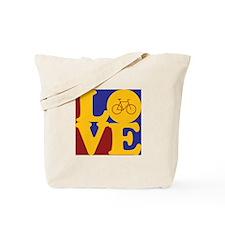 Bicycling Love Tote Bag