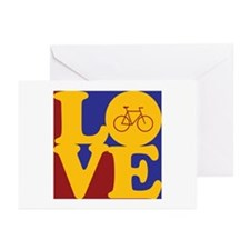 Bicycling Love Greeting Cards (Pk of 20)