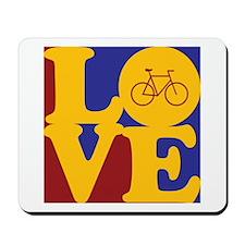 Bicycling Love Mousepad