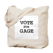 Vote for Gage Tote Bag