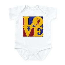 Baseball Love Infant Bodysuit
