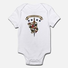 Love Cribbage Infant Bodysuit