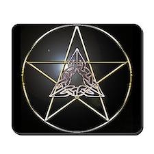 Pentagram & Celtic Knot Mousepad