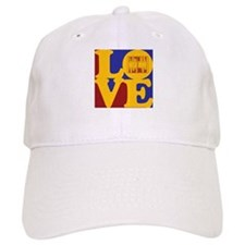 Backgammon Love Baseball Cap