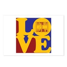 Backgammon Love Postcards (Package of 8)