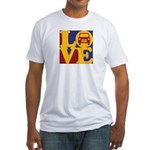Auto Glass Love Fitted T-Shirt