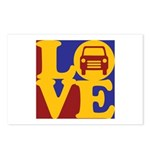 Auto Glass Love Postcards (Package of 8)