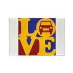 Auto Glass Love Rectangle Magnet (10 pack)